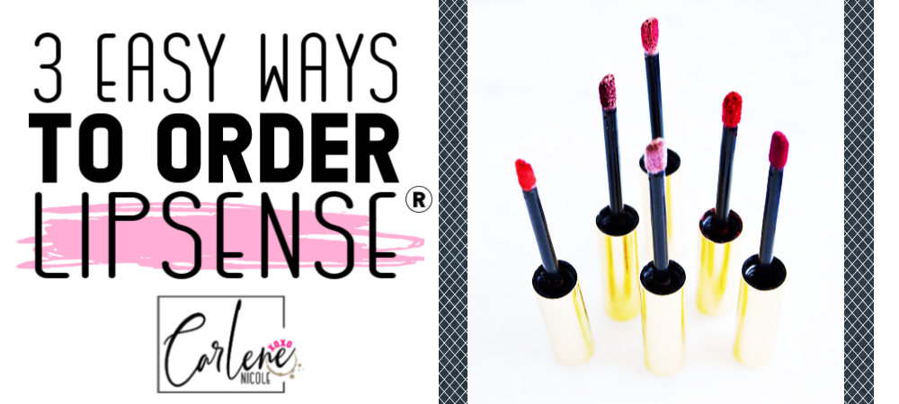 How To Order LipSense®