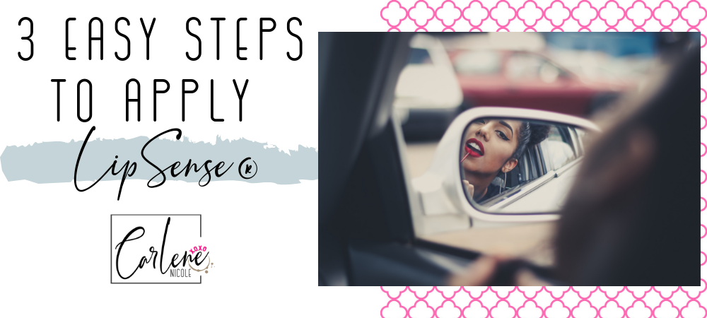 3 Easy Steps to Apply LipSense®