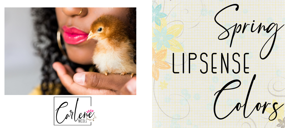 Spring LipSense®  Colors