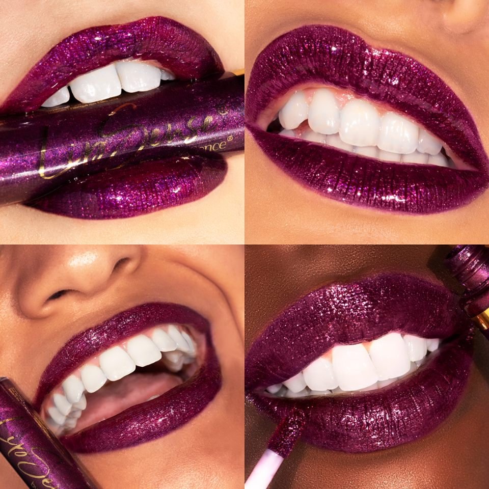 metallic plum lipsense limited edition