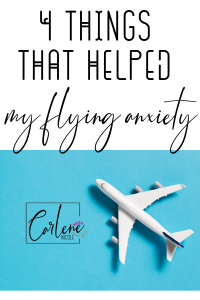 Fear of flying things that helped me
