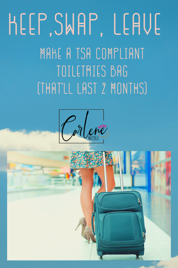 carry on travel with your regular skincare routine, how to find perfect containers for your liquids when traveling